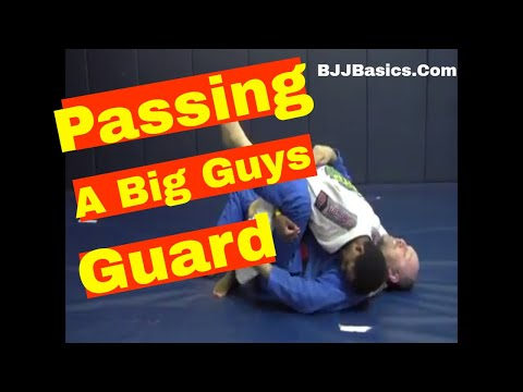 BJJ Basics: Breaking and Passing a Bigger Persons Closed Guard