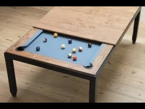How to build a pool table in 15 mins