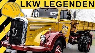 OLDTIMER LKW - Infos & Anekdoten aus 50 Jahren Historische Mercedes Trucks