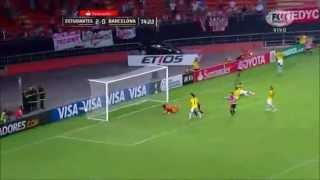 Estudiantes 3 - 0 Barcelona SC Copa Libertadores 2015
