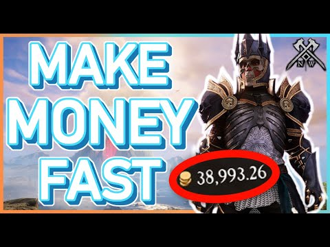 How To Make MONEY FAST in NEW WORLD! Best Gold Making Methods!