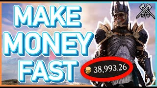 How To Make MOΝEY FAST in NEW WORLD! Best Gold Making Methods!