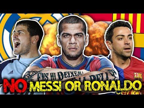 La Liga's Greatest Ever XI!   Xavi, Roberto Carlos & Dani Alves