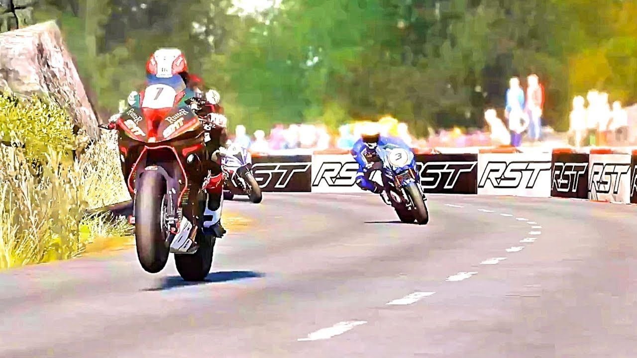 tt isle of man official launch trailer bike race game ps4. Black Bedroom Furniture Sets. Home Design Ideas