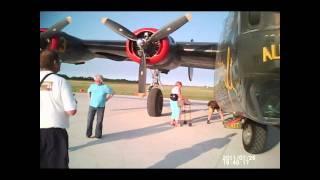Collings Foundation B-24 flight, July 26, 2011, Valparaiso, Indiana, inside aircraft,     5 of 5