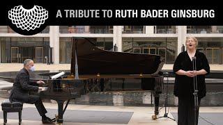 "A Tribute to Ruth Bader Ginsburg - Christine Goerke Sings ""Abscheulicher!"" from Fidelio"