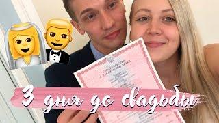 За 3 Дня До Свадьбы  ❤  Регистрация в ЗАГСе, Свадебный танец и Отель