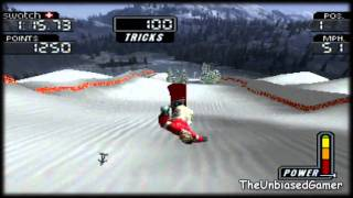 Cool boarders 3- PS1- Gameplay