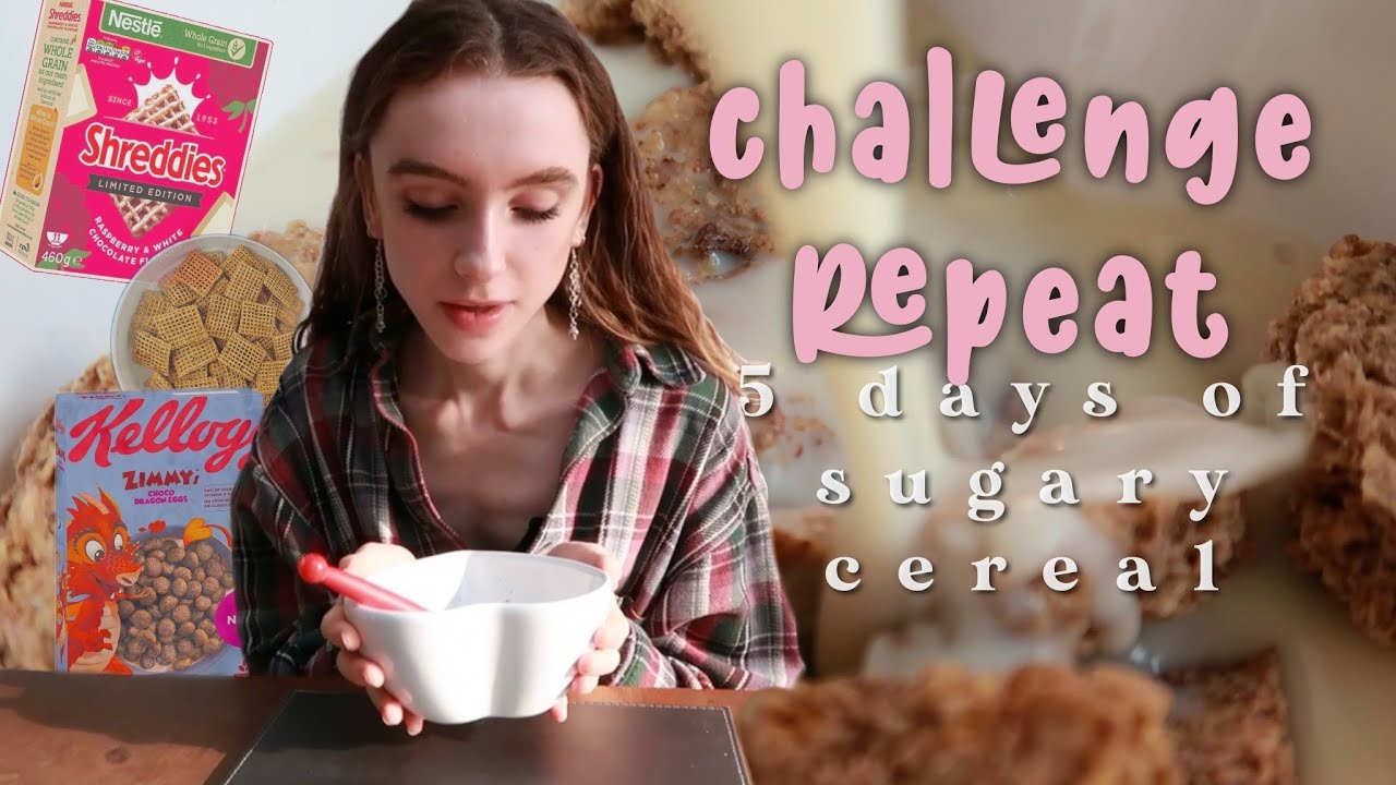 Download 5 DAYS 1 FEAR FOOD *cereal edition* - anorexia recovery   rorecovering