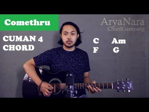 Chord Gampang (Comethru - Jeremy Zucker) By Arya Nara (Tutorial Gitar) Untuk Pemula