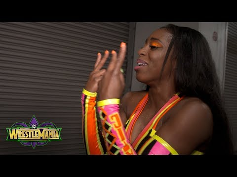 """Naomi believes """"it's a good time to be a woman"""" in WWE: Exclusive, April 8, 2018"""