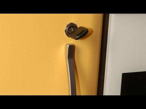 Cerradura Para Puerta De Armario Hogarmania Youtube