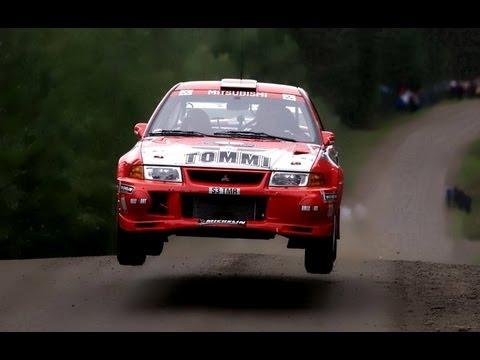 WRC Rally Finland 99 Tommi Mäkinen Mitsubishi Evo VI Onboard cam