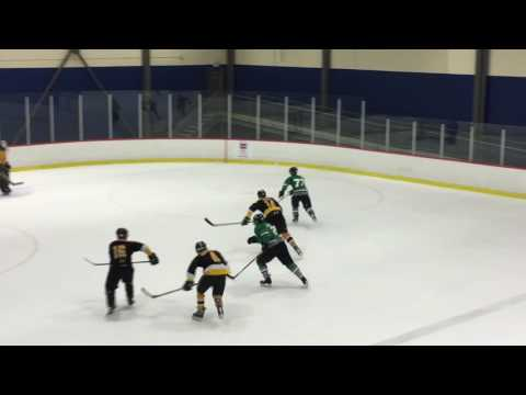 The Mid-Ice Crisis vs some yellow team for the UBC CHAMPIONSHIP