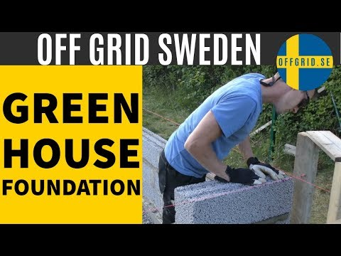 Greenhouse build - the foundation Episode 1