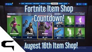 Giftins Skins!! FORTNITE ITEM SHOP COUNTDOWN August 16th item shop Fortnite battle royale