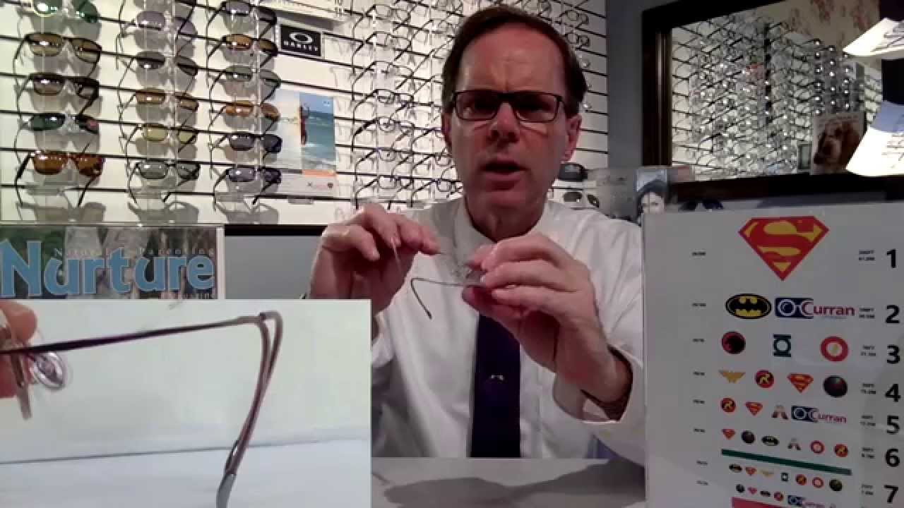 be565d9be0 ADJUSTING YOUR CHILD S RIMLESS EYEWEAR - YouTube