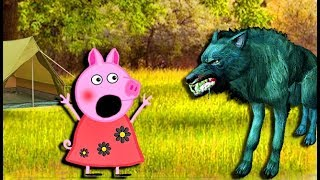 Мультики Свинка  Петта пошла в поход Петта и Сьюзи заблудились  Мультфильмы для детей на русском