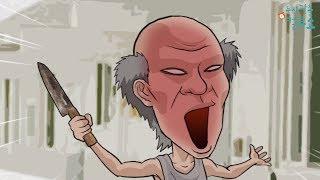 컬투쇼 (레전드 사연 ) UCC 애니메이션 - 칼을 든 아버지 - 편