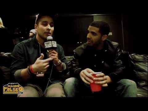 Drake Talks Woman's Forehead Tattoo