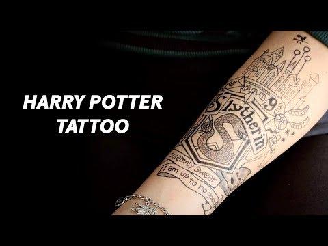 Slytherin Tattoo Timelapse