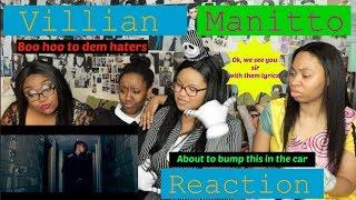VILLIAN MANITTO MV REACTION [LATE VIDEO #1]