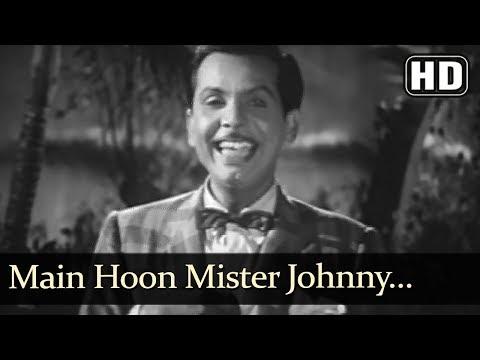 Main Hoon Mr. Johny (HD) - Mai Baap Song - Johnny Walker - Minoo Mumtaz - Black & White Songs