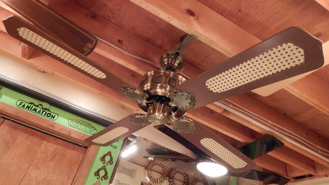 Unknown Halsey Emperor Type Ceiling Fan 1080p Hd