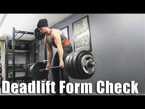 Deadlift Form Breakdown & Fail Due to Bad Positioning