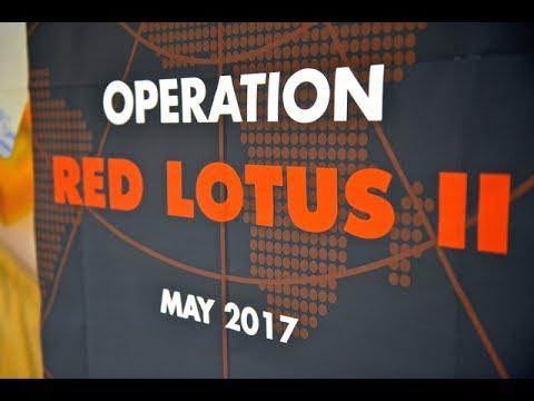 INTERPOL Operation Red Lotus 2017 (EU-ASEAN Migration & Border Management programme)