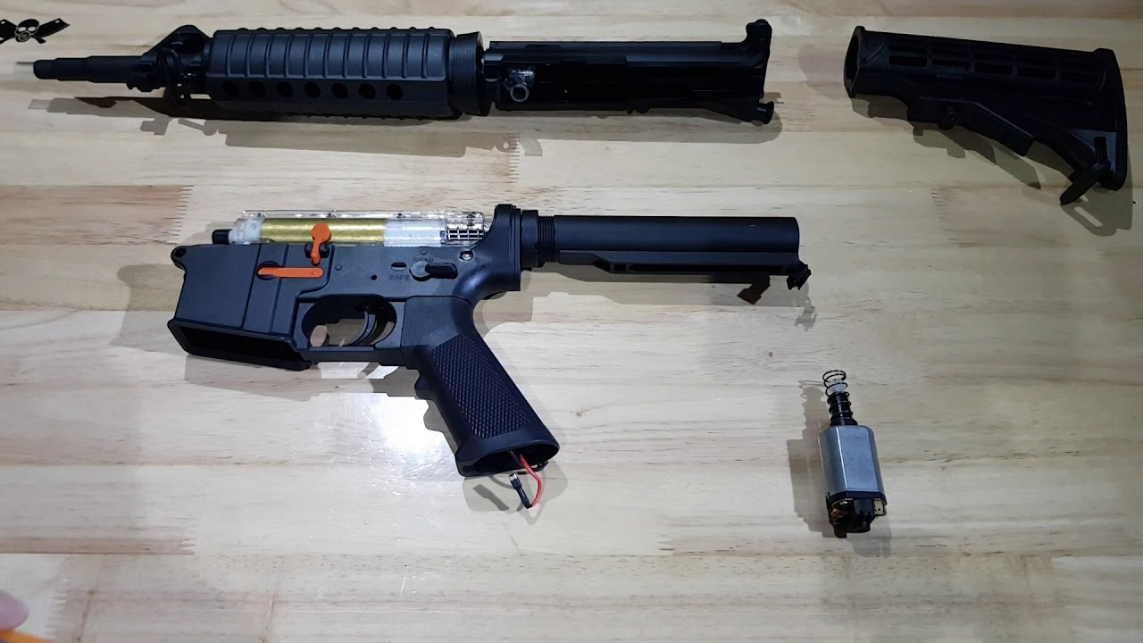 BOLBR: M4A1 J9 gel blaster review and upgrades for beginners