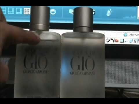 Difference between rea... Giorgio Armani