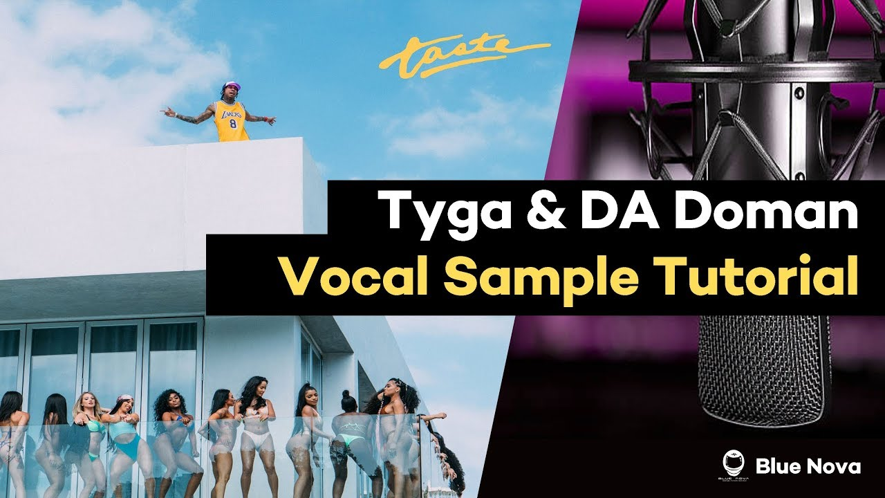 👨🚀 How to Make A Tyga | DA Doman Vocal Sample Beat | FL Studio Tutorial