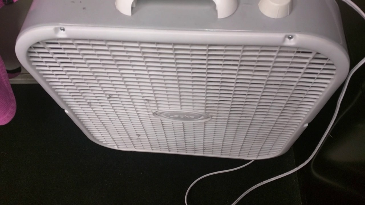Lasko Box Fan Stopped Working What Age Can You Buy Shares Fuse How To Fix A Fans Work By Having Set Of Blades Attached On The Shaft Small Motor Motors And Bearings Have