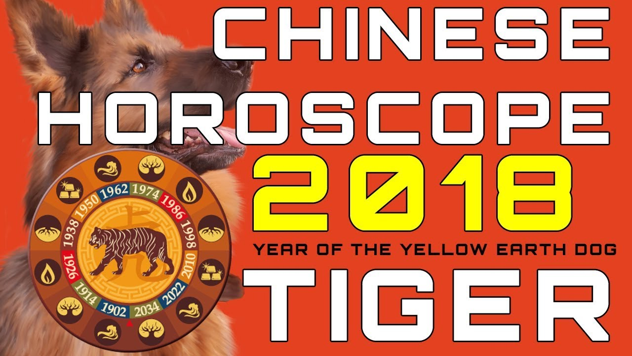 Tiger 2018 Chinese Horoscope Predictions
