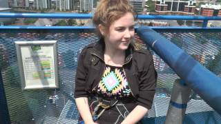 Bungee Jump Salford Quays 17th June 2017