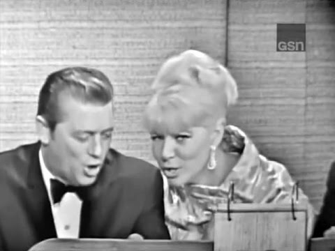 What's My Line? - Gordon & Sheila MacRae; Jack Jones [panel] (Oct 10, 1965)