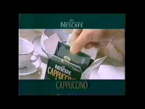 ネスカフェ カプチーノ イタリアンコーヒー 1994年 CM