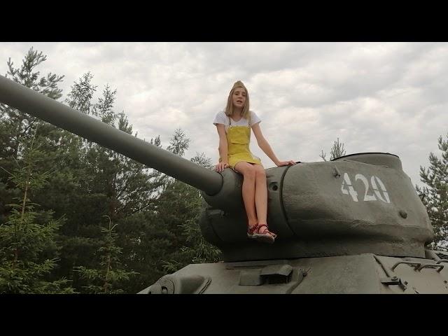 Изображение предпросмотра прочтения – ВарвараКривоногова читает произведение «Рассказ танкиста» А.Т.Твардовского