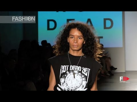 NOT DEAD YET Spring Summer 2019 Global Fashion Collective New York - Fashion Channel