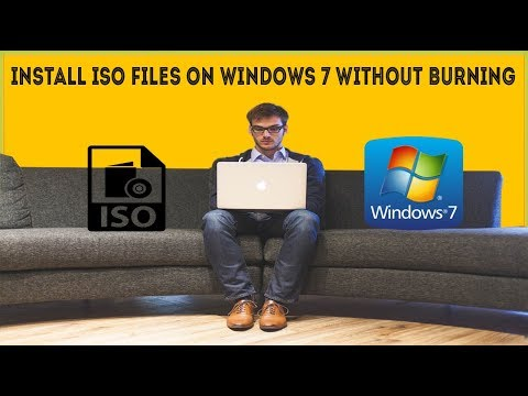 install windows iso without burning