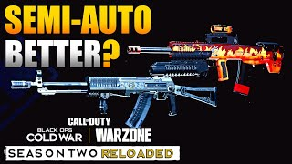 Are AN-94 and Oden Better in Semi Auto in Warzone? | FR 5.56 Rate of Fire Change/Error