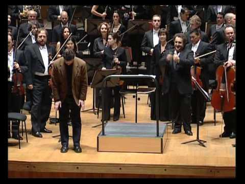 "Eduardo SOUTULLO, Josep PONS, ""THEY HEAR NO ANSWERING STRAIN"", Orquesta Sinfónica de Galicia"