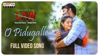 O Pidugalle Full Song | L A W (LOVE AND WAR) Songs | Kamal Kamaraju, Mouryani
