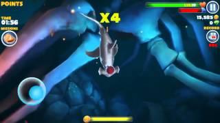 Hungry shark evolution! Part 2 hammershark kill megalodon..