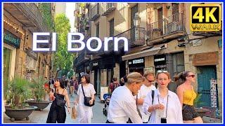 【4K】WALK BARCELONA Catalonia Spain 4K video HDR TRAVEL vlog