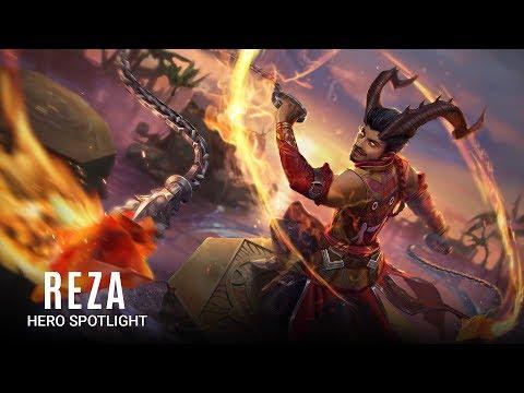 Reza Hero Spotlight
