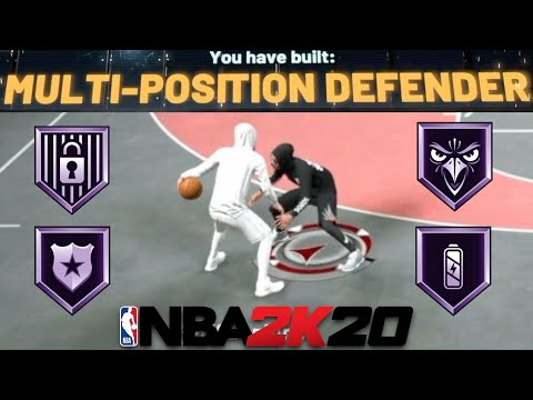Best Multi-Positional Defender Build In NBA 2K20 | Best Glitchy Unknown Build Series Part 2.5