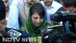 Hope PM will address the unrest in Kashmir, says Mehbooba Mufti