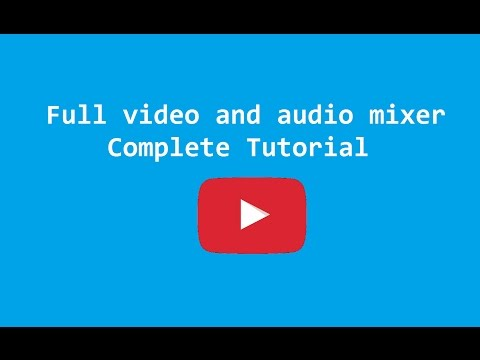 Full video and audio mixer with crack ✅